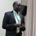 PSAf Regional Media Development and ICTs Programme Manager, Elias Banda, addressing the Second African Conference of Science Journalists